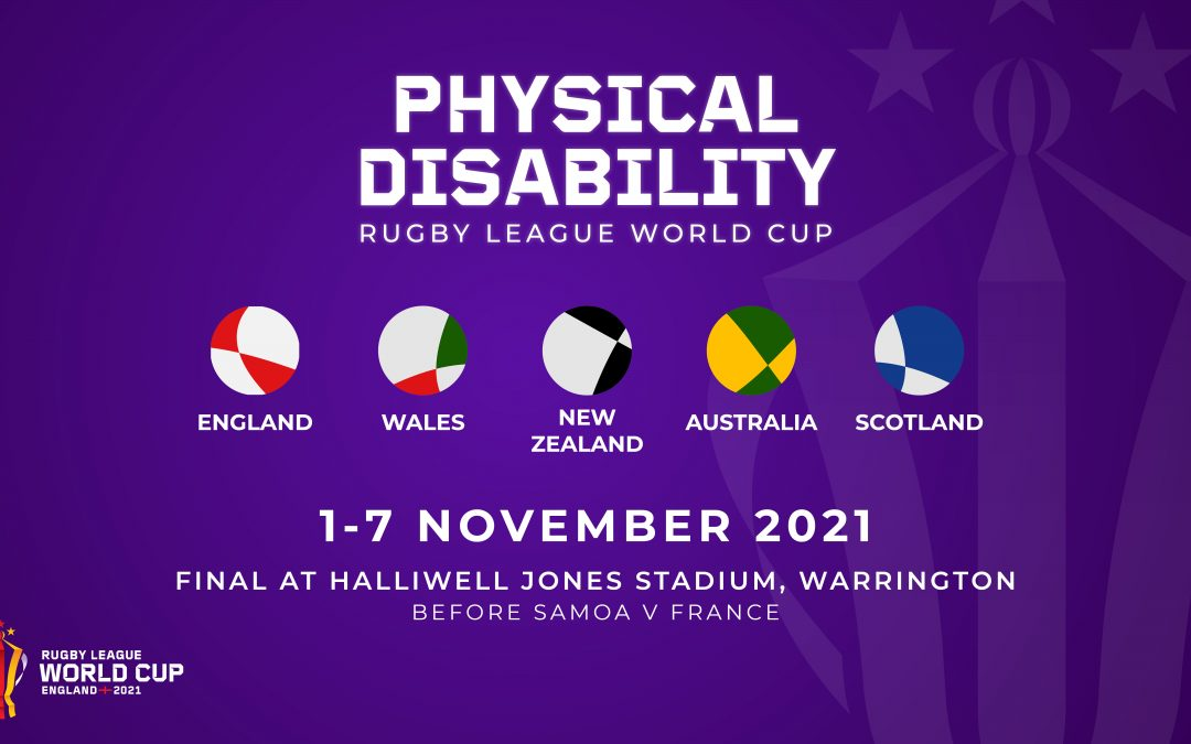First ever physical disability rugby league world cup