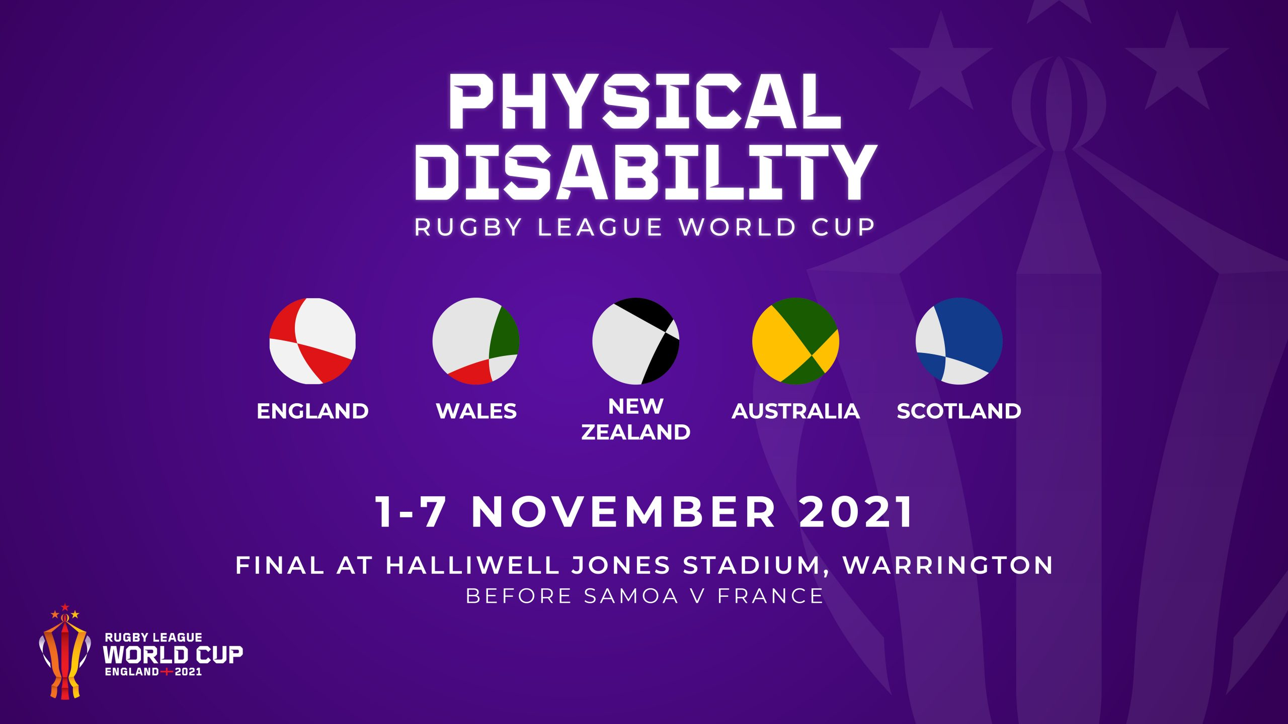 Physical Disability RLWC2021