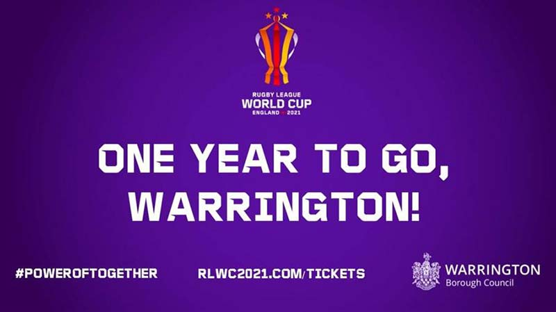 Rugby League World Cup 2021 Warrington